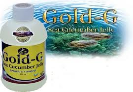 Obat Batu Empedu Jelly Gamat Gold G